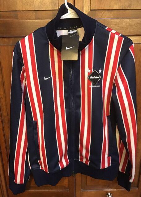 Nike FC Real Bristol Jacket Dri Fit FCRB Striped Men's S $240 NWT New 684598 440