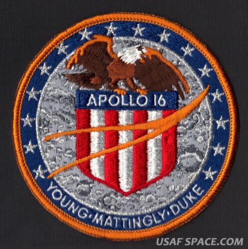 APOLLO 16 LION BROTHERS VINTAGE ORIGINAL NASA Hallmarked CLOTH BACK SPACE PATCH