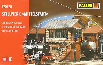 Faller 120120 HO Stellwerk Mittelstadt #NEU in OVP##