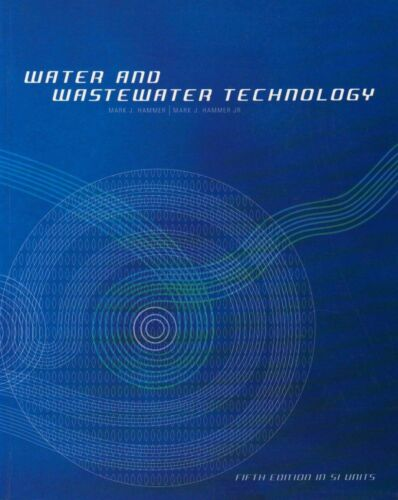 1 of 1 - Water and Wastewater Technology, Hammer  Jr., Mark J., Used; Good Book