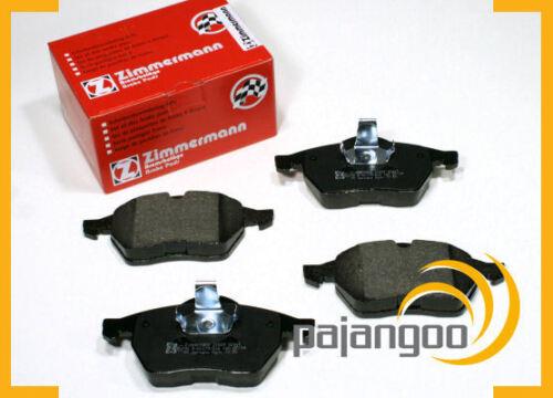 Zimmermann Bremsen Bremsbeläge für vorne die Vorderachse Saab 9-3