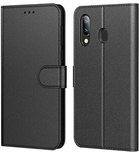 HL Tenphone Etui Coque pour Samsung Galaxy A20e, Protection Housse en Cuir Porte