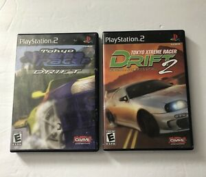 Tokyo Xtreme Racer Drift 1 & 2 Sony Playstation 2 PS2 COMPLETE Crave VG