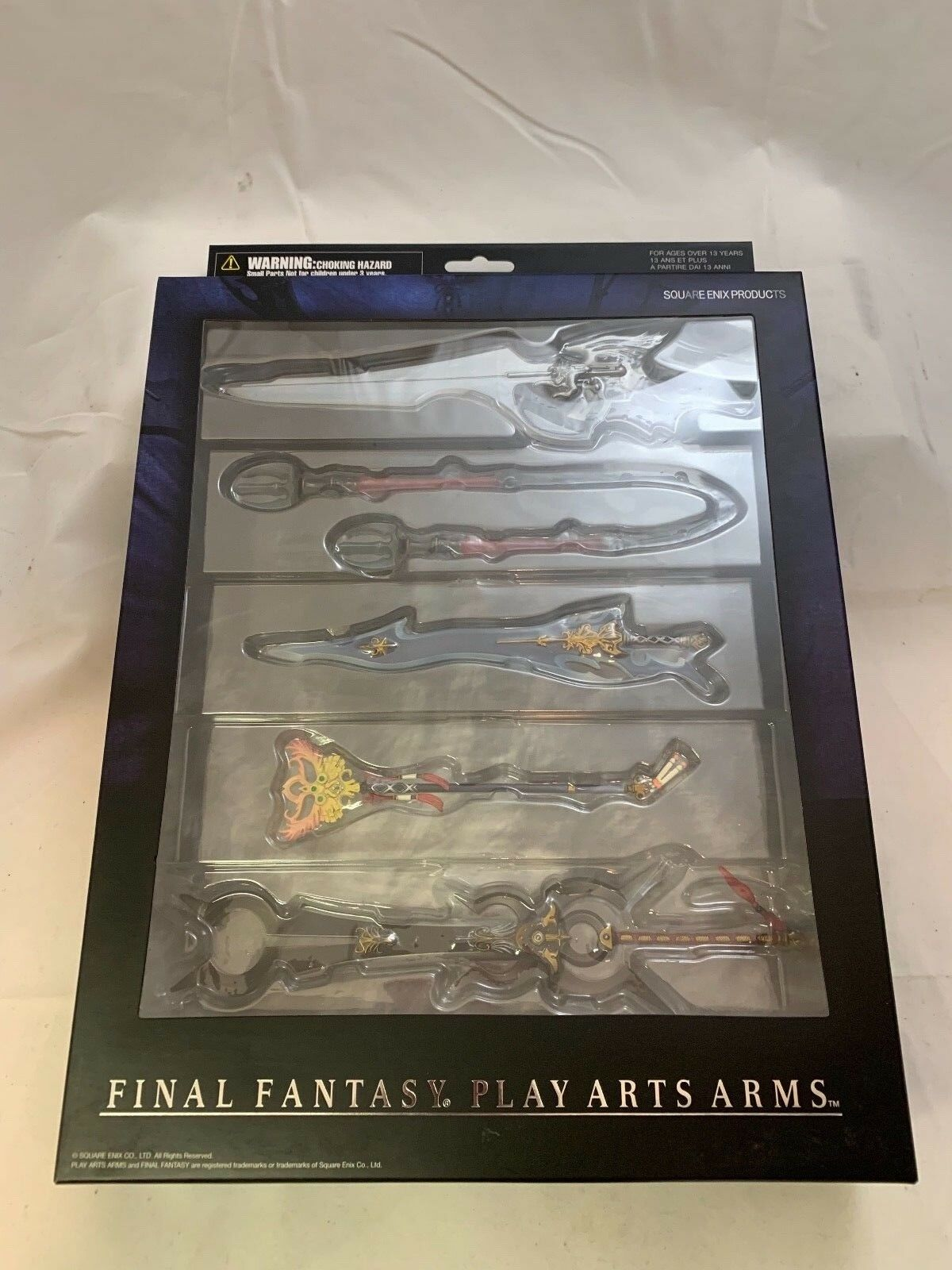Final Fantasy Play Arts Arms SEALED SET of 5 RARE Weapons MIB Squall & More
