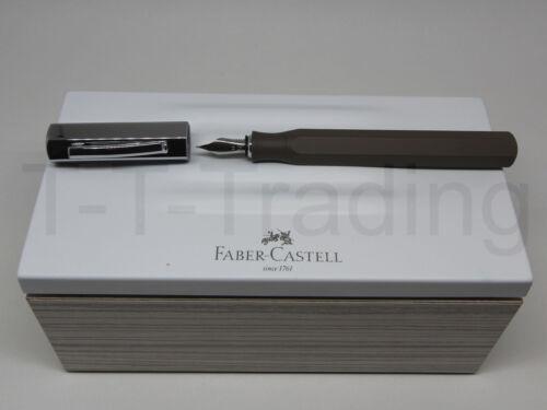 Sonderaktion 40/% Faber-Castell Füllfederhalter Ondoro Graubraun F//M//B