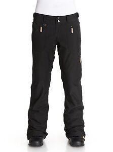2016-NWT-WOMENS-ROXY-NADIA-PANTS-black-jacket-to-pant-attachment-dryflight