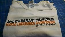 2009 Panam Plafit Championship White XL T-Shirt from Mid America