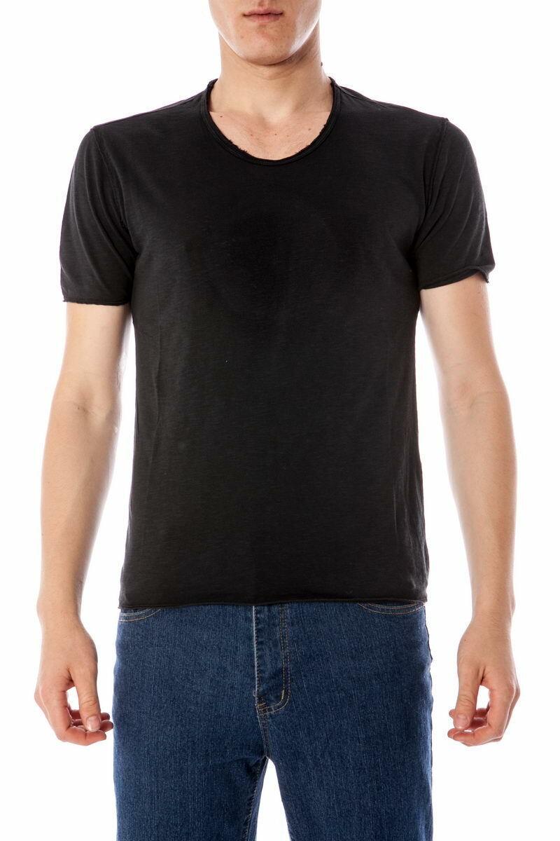 T shirt Maglietta Daniele Alessandrini Sweatshirt ITALY herren schwarz M48133305 1