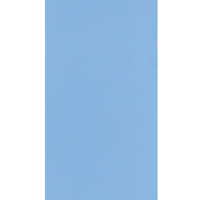 27' ft Round Overlap Plain Blue Above Ground Swimming Pool Liner-25 Mill