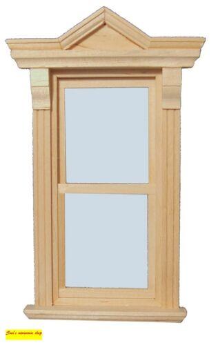 Escala 1:12 casa de muñecas en miniatura de selección de ventanas de madera 5 para elegir.