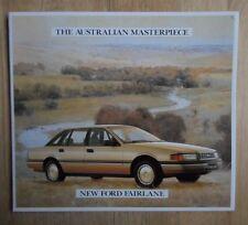 FORD FAIRLANE orig 1988 large format sales brochure - Australia