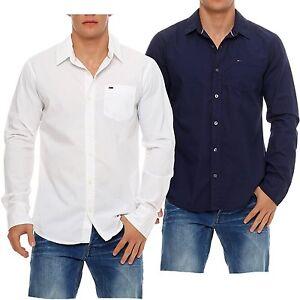 Tommy-Hilfiger-Denim-Tulsa-camisa-manga-larga-talla-S-M-L-XL-XXL-Nuevo-Shirt