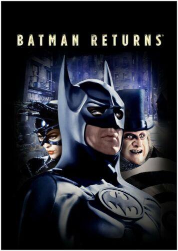 Batman Returns Penguin Catwoman Movie Poster Art Print A0 A1 A2 A3 A4 Maxi