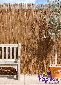 Rouleau Canisse Osier Saule Jardin Premium Toile d\'ombrage Terrasse ...