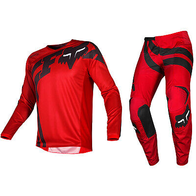 Przm Marineblau Rot Fox Racing 180 Motocross MX Set Hose Trikot
