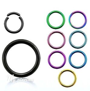 2pcs-16G-14G-1-4-034-1-2-Anodized-Segment-Ring-Ear-Lip-Septum-Cartilage-Nose-Hoop