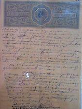 British India - KING EDWARD VII KE  - 4 Annas - Stamp Bond Paper