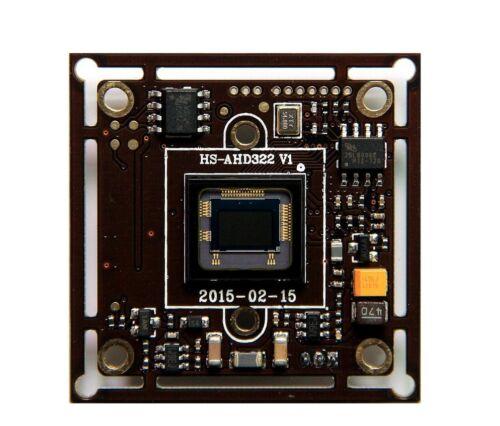 "AHD 2.0 Megapixel 1080P Board Camera Module 1//2.8/"" CMOS NVP2441H IMX322 Board"