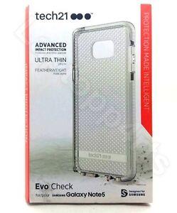 Genuine-Tech21-Evo-Check-Ultra-Thin-Clear-Case-For-Samsung-Galaxy-Note-5-White