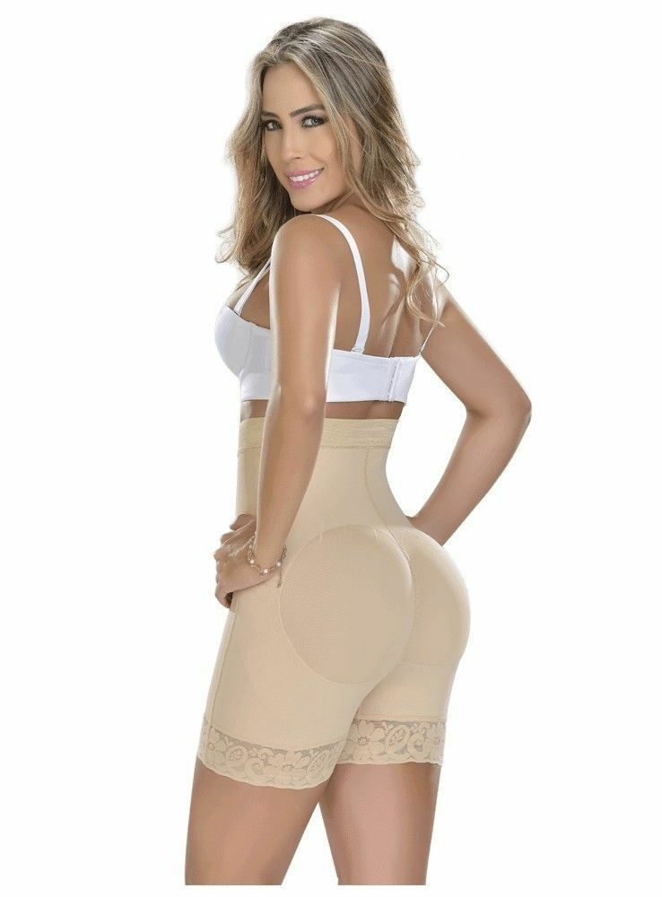 Faja Colombiana Reductora Butt Lifter Slimming Invisible Short Abdomen Control