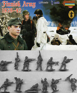 Details about Strelets 1/72 WWII Finnish Army 1939-42 # M062
