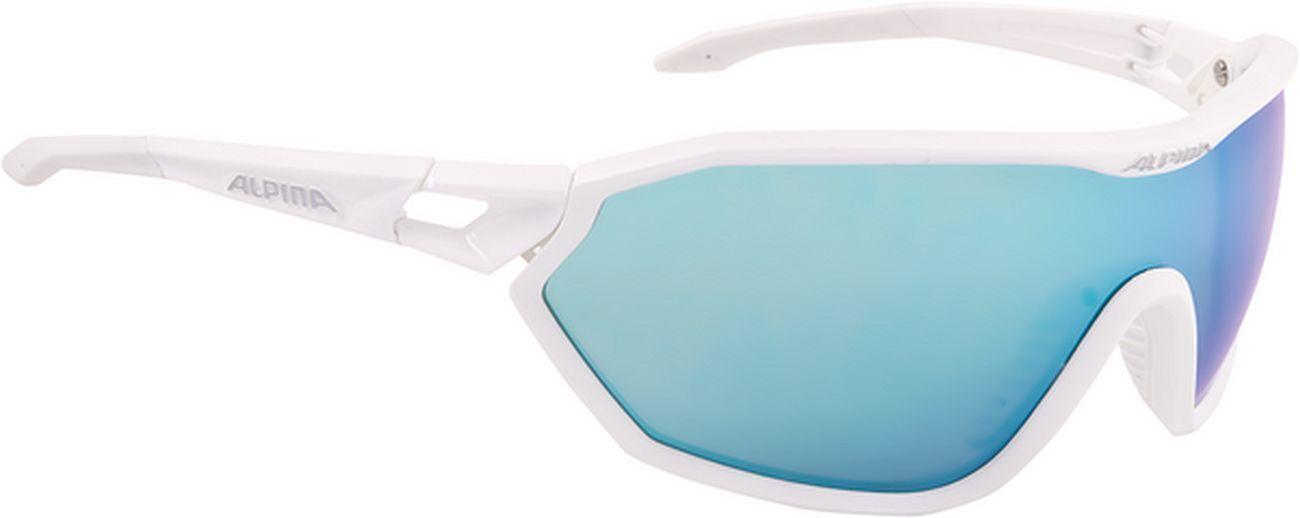 Alpina S-WAY CM+ Sportbrille - Weiß matt    Angemessene Angemessene Angemessene Lieferung und pünktliche Lieferung  67444f