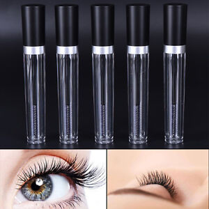 fd8837a45fd 8ML Empty Black Cover Head Mascara Tube Eyelash Cream Vial/Bottle ...