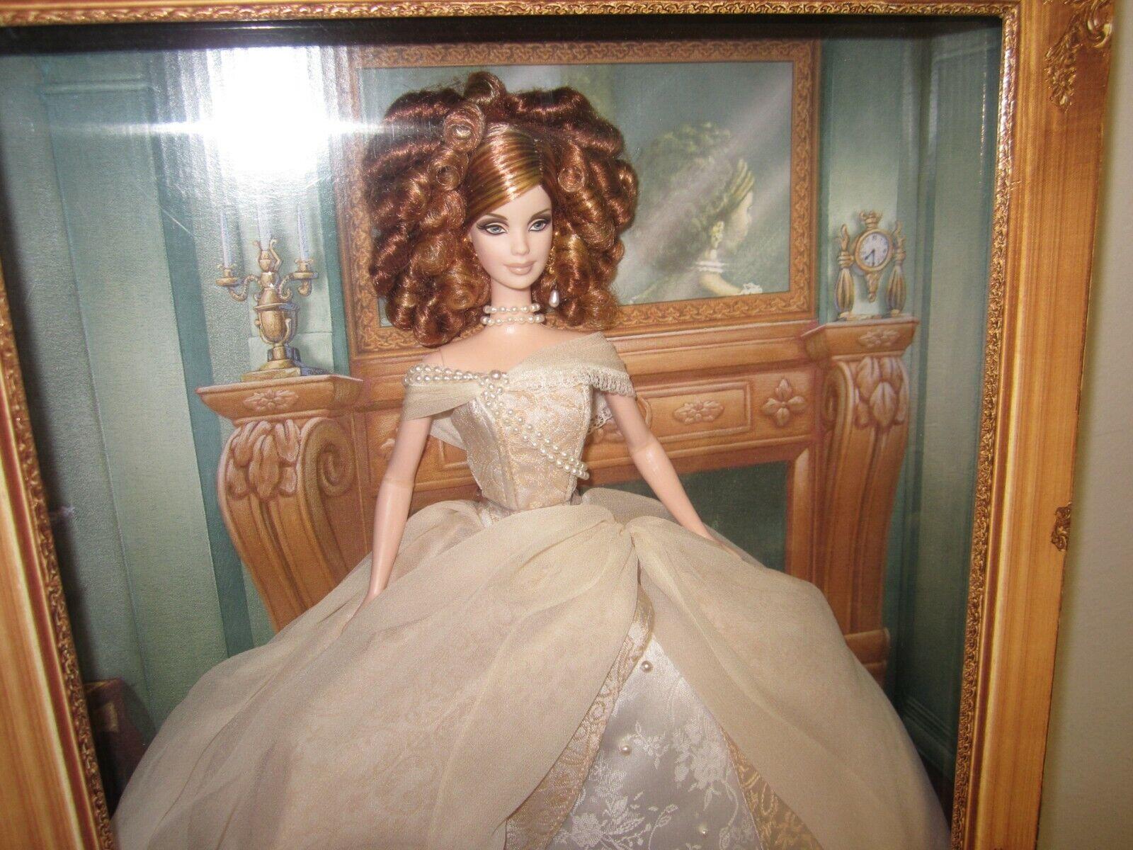 Retrato DE SEÑORA Camille Barbie Muñeca de la colección de 2003 por Mattel Nuevo
