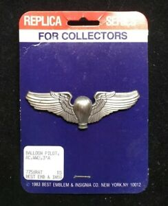 WW2 Reproduction USAAF 8th Air Corps Pin//DUI//Insignia Pin Back