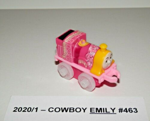 NEW From Package Thomas /& Friends Minis 2020//1 COWBOY EMILY #463