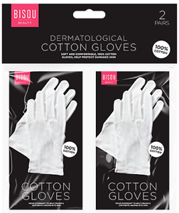 White-Cotton-Gloves-Moisturising-Eczema-Butler-Beauty-Waiters-Magician-Halloween