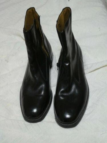 FLORSHEIM BOOTS 10D BLACK EUC