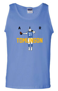 LaDainian-Tomlinson-San-Diego-Chargers-034-Air-Ball-Flip-034-jersey-shirt-TANK-TOP