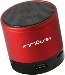 innova Altavoz Bluetooth Rojo