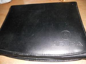 2004 acura nsx integra gsr tl owners manual case w acura logo ebay rh ebay co uk 2004 Acura TL Manual Transmission 2004 Acura TL Manual Book