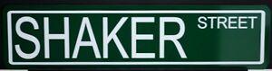 METAL STREET SIGN SHAKER STREET MUSTANG TRANS-AM CUDA CHALLENGER SUPER DUTY 426