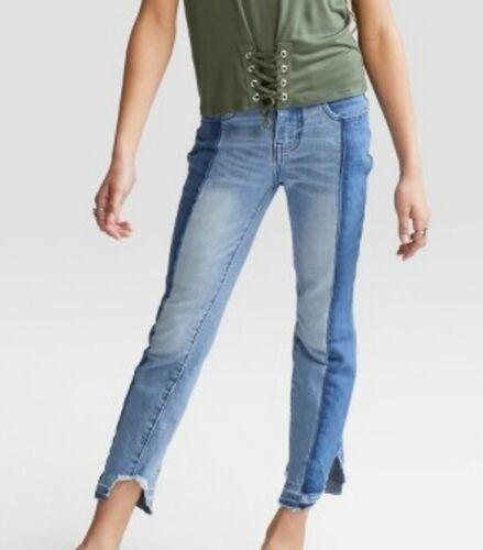 3485 Girls Art Class 2 Toned Skinny Jeans//Capris W//Adj Waist Blue Select Size