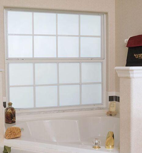 fenêtre teinter Pro teinte verre film 51 76 100cm Dépoli blanc-Protection Gel