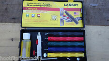 LANSKY SHARPENERS CONTROLLED ANGLE SHARPENING SYSTEM DELUXE LKCLX KITCHEN BUSH