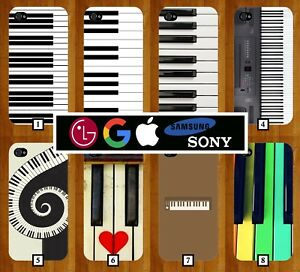 detailing a7420 37a78 Details about Piano Keys Phone Case Keyboard Cover Google Pixel 2 Note 8 a3  iPhone X + 8 LG 84