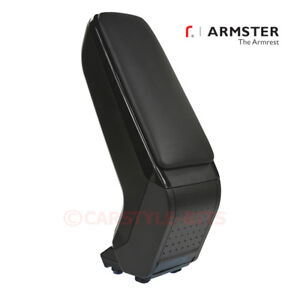 FIAT-500-595-Abarth-039-2016-gt-Armster-S-Armrest-Centre-Console-Arm-Rest-Black
