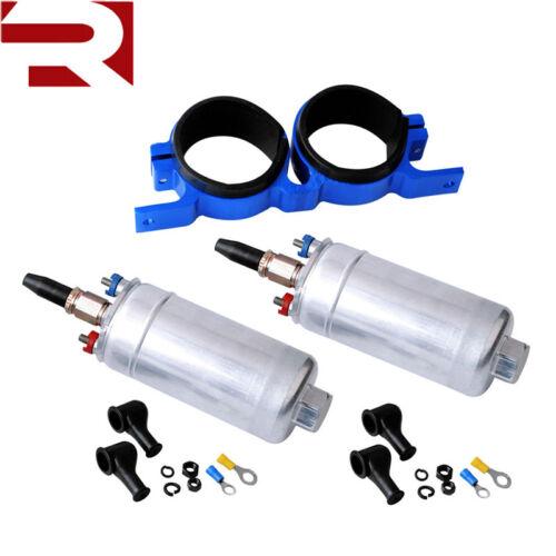 5bar 250ltr.//ora supporto come 0580254044 2 X POMPA GASOLIO incl benzipumpe