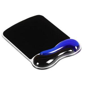 K62401AM Duo GEL Mouse Pad Wrist Rest Wave Blue Kensington