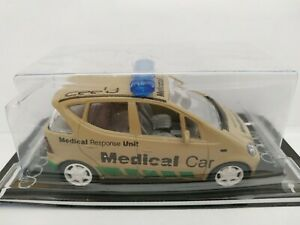 1-43-MERCEDES-CLASE-A-MEDICAL-SAFETY-CAR-COCHE-METAL-ESCALA-SCALE-DIECAST