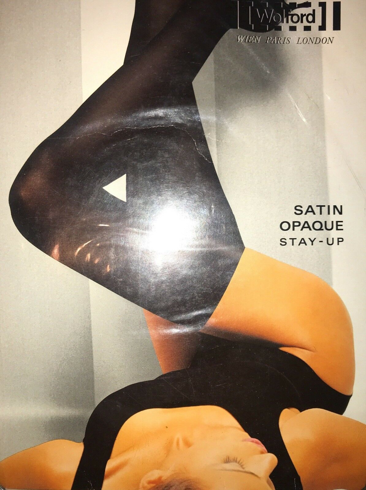Wolford Satin Opaque STAY-UP color  Coca Size Extra-Small 21243 - 12