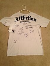 Affliction Shirt Signed By Randy Couture, Forrest Griffin, Big John, Maynard Etc