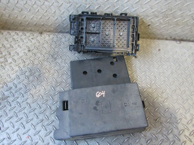 02 03 Chevy Trailblazer Ext Fuse Box Underhood 4 2l