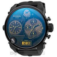 Mens Diesel Digital Quartz Sba Xl 4 Time Zone Watch - Dz7127 - Rrp £309