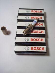6-x-BOSCH-FR78X-Super-4-Enchufes-de-chispa-BMW-320i-1990-2001-tambien-323-y-325