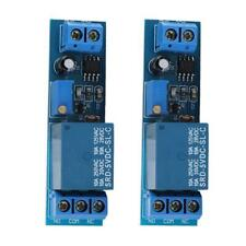 2pcs Dc 5v Timer Adjustable Delay Turn Off On Switch Ne555 Time Relay Module Kit